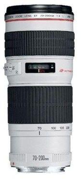 Canon EF 70-200mm f/4.0 L IS USM Biały