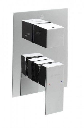 Podtynkowa bateria prysznicowa LATUS 3 wyjścia chrom