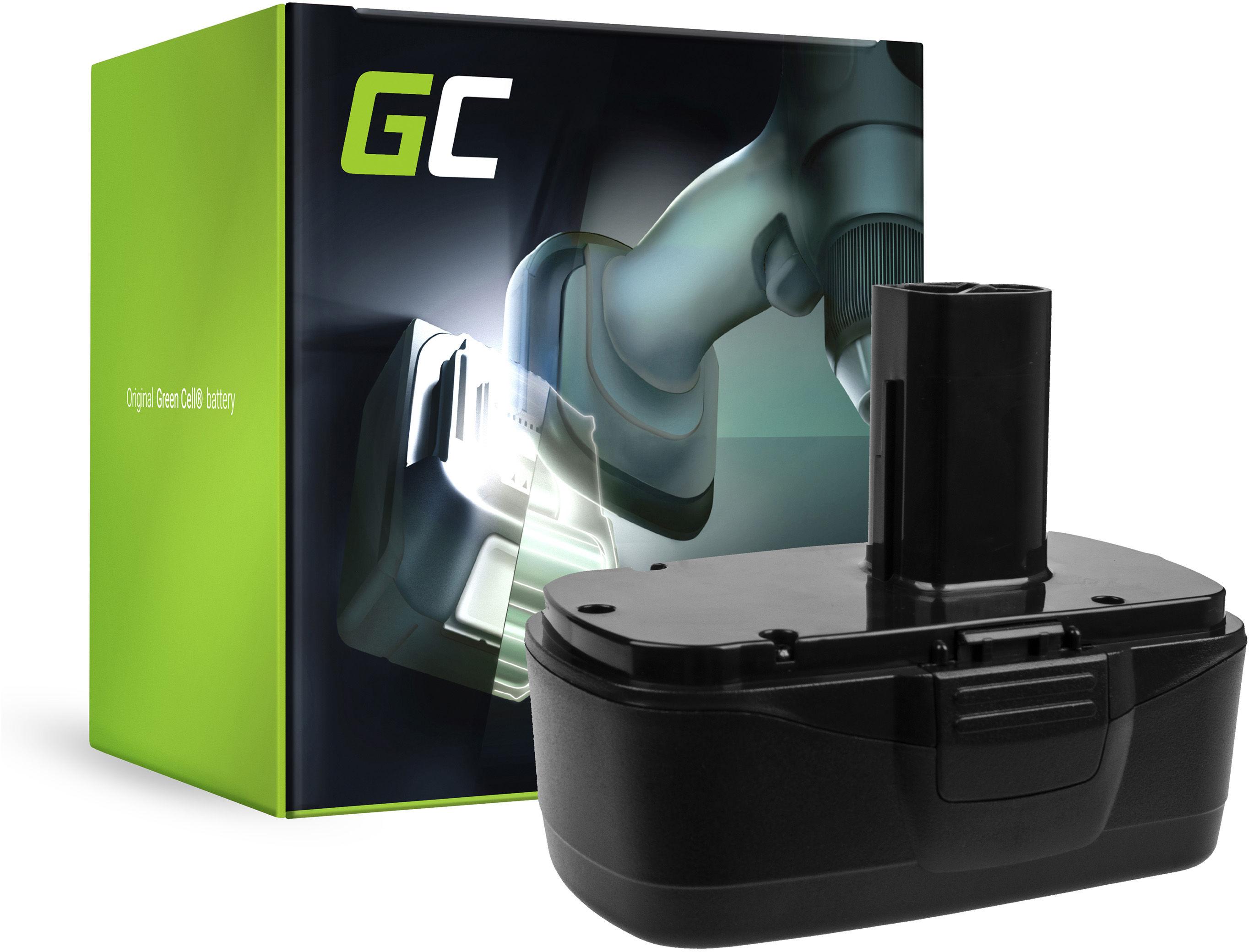 Bateria Green Cell (3Ah 19.2V) 11375 11376 do Craftsman C3 XCP 19.2V CRS1000 ID2030 11485 114850 114852 115410 17191 5727.1