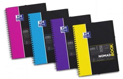 Kołozeszyt OXFORD Nomadbook Student A4+/80k linia, okładka PP 400037403