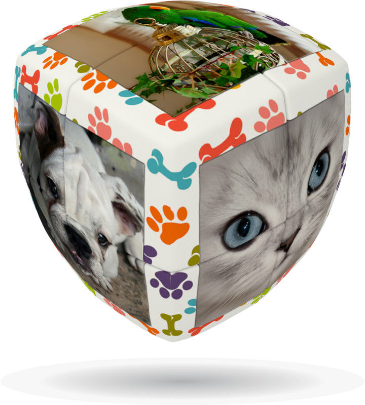 Kostka V-Cube 2 Zwierzęta domowe (2x2x2) wyprofilowana