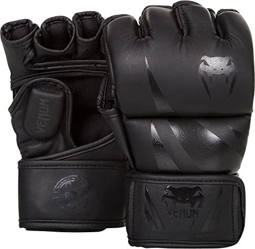 Venum Rękawice MMA dla dorosłych Challenger 2.0, czarne/matowe, S