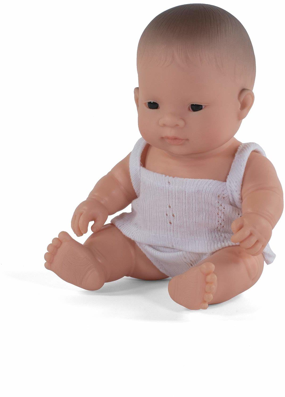 Miniland Miniland31126 lalka azjatycka dziewczynka 21 cm 31126, wielokolorowa