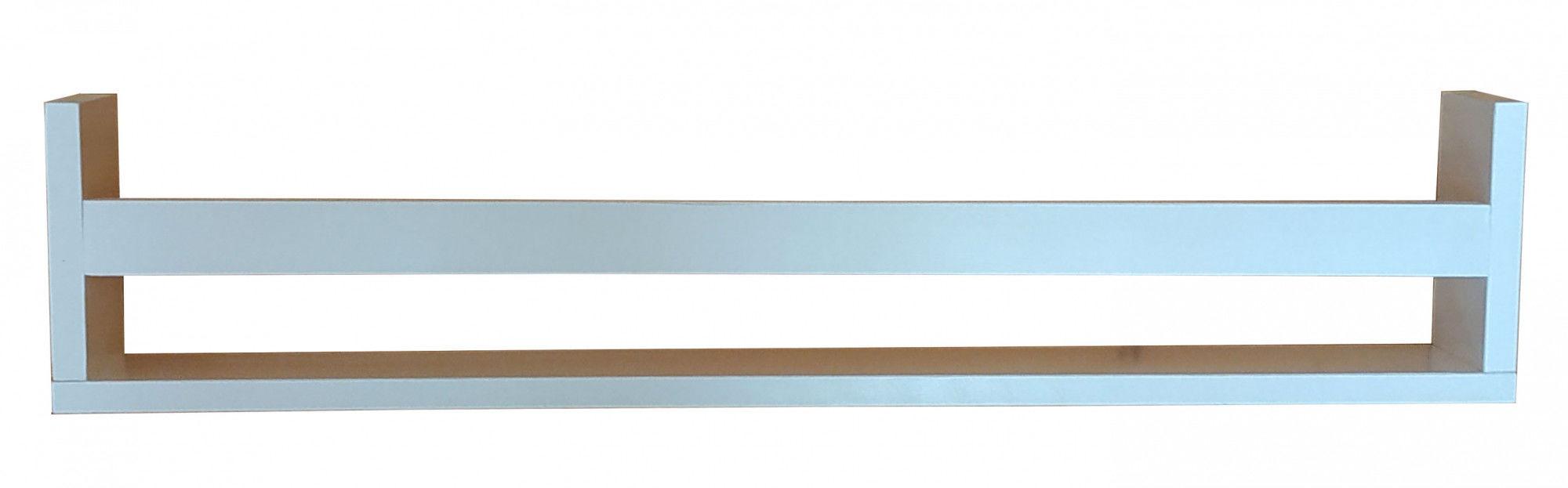 Drewniana minimalistyczna półka ścienna 30 kolorów - Romina
