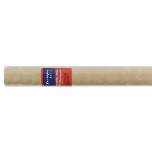 Papier pakowy HERLITZ 5x1m brązowy - X05246