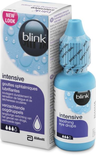Krople do oczu Blink intensive tears 10 ml