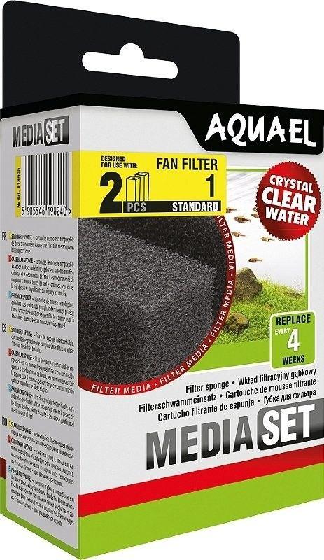 AQUAEL wkład filtracyjny gąbkowy MediaSet