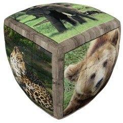 Kostka V-Cube 2 Dzikie zwierzęta (2x2x2) wyprofilowana