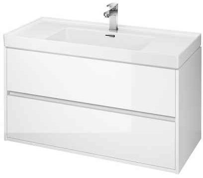 Cersanit Crea 100 cm szafka podumywalkowa Crea biała S924-021