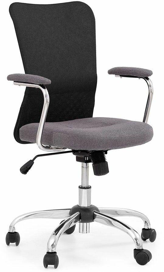 Fotel obrotowy Alwer - czarny