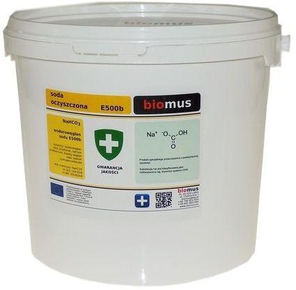 Soda Oczyszczona Wodorowęglan Sodu 5 kg E500b Biomus