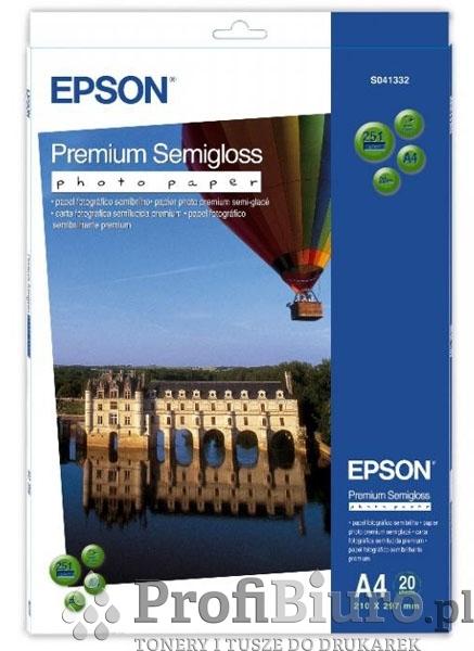 Papier Epson Premium Semigloss Photo - 251 g/m2 - A4 - 20 szt.