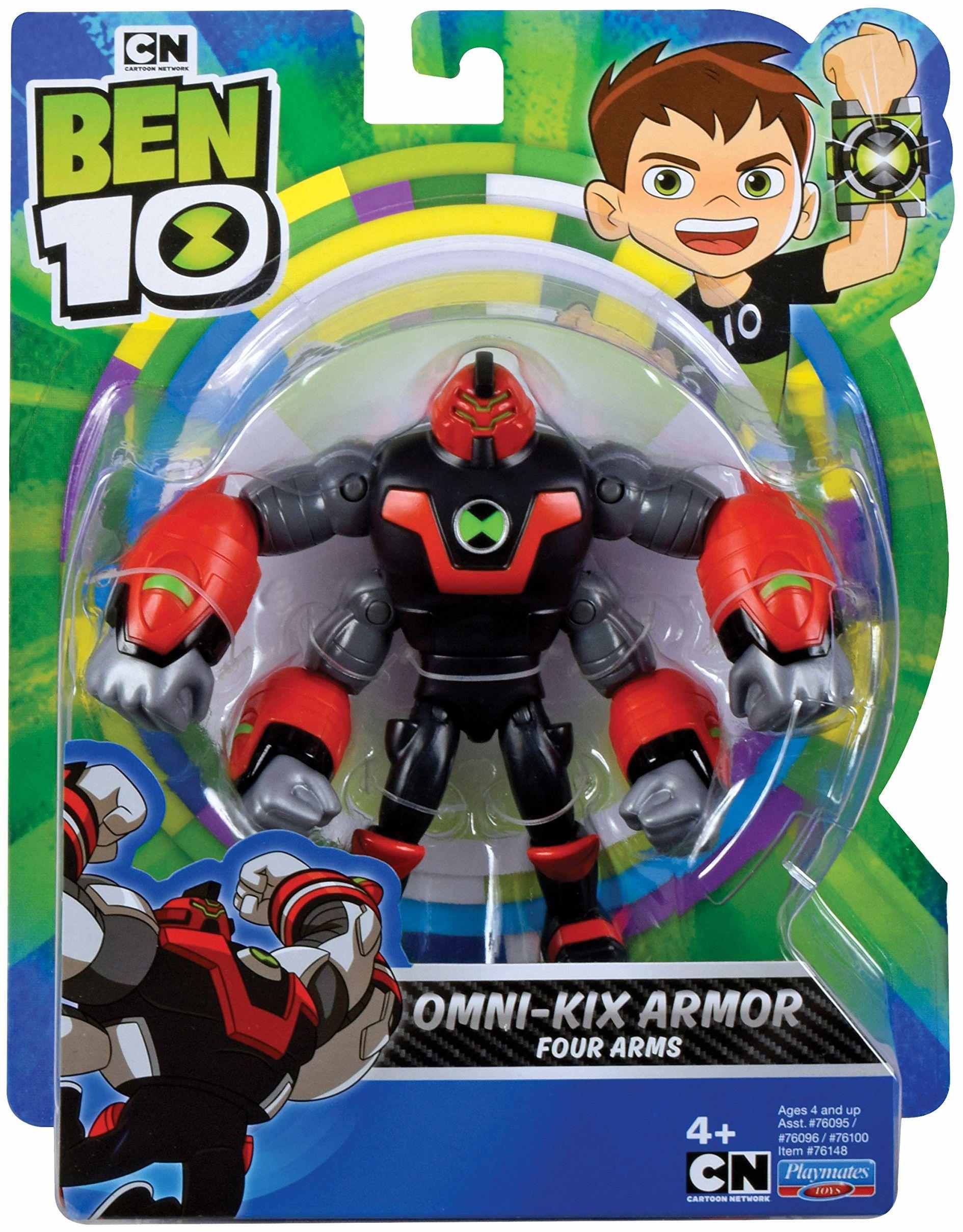 Ben 10 BEN47D10 Figurka z ruchomymi ramionami Omni Kix