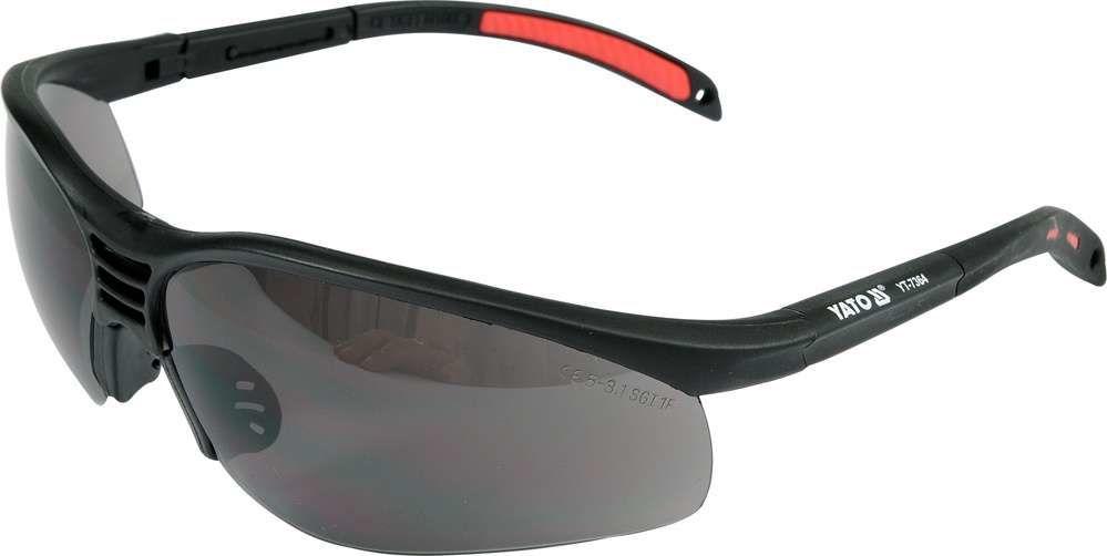 Okulary ochronne szare Yato YT-7364 - ZYSKAJ RABAT 30 ZŁ
