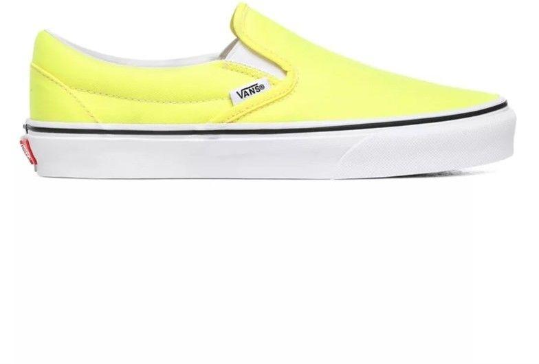 buty VANS - Classic Slip-On (Neon) Lemon Tonic/Tr Wht (WT7)