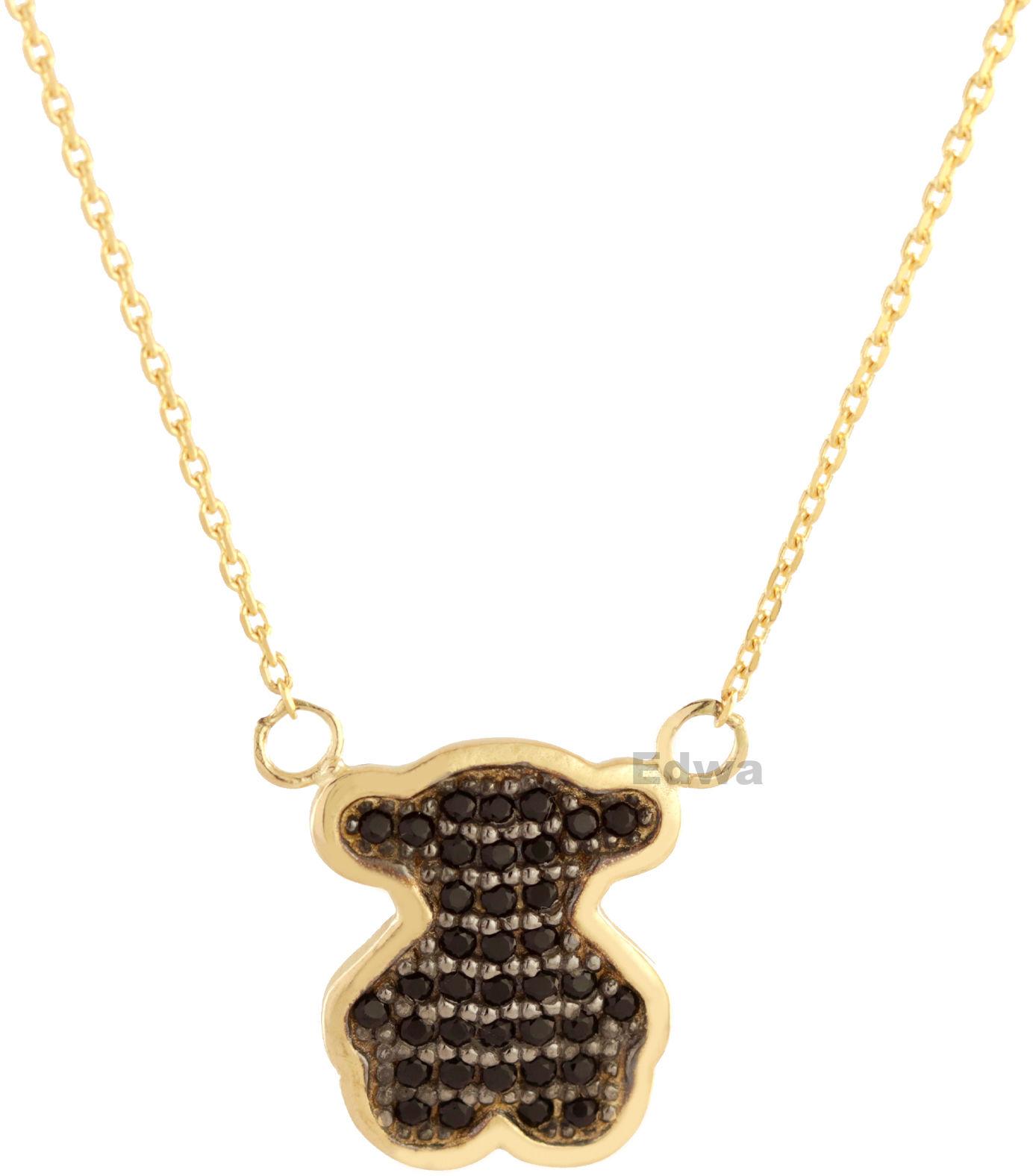 Łańcuszek złoty celebrytka z Misiem pr.585