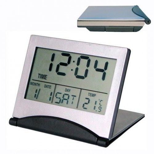 Zegar cyfrowy LCD składany