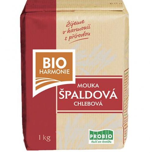 Mąka orkiszowa typ 750 chlebowa 1kg Bio Harmonie