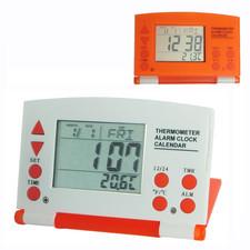 Zegar LCD składany orange