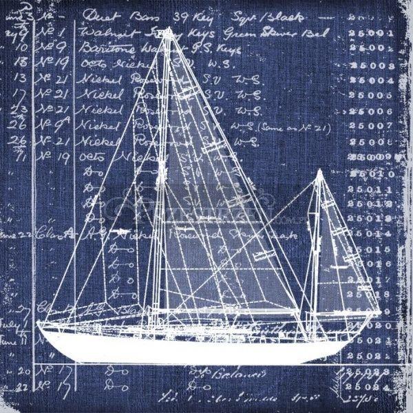 SERWETKI PAPIEROWE - Nautica - Morski Kuter