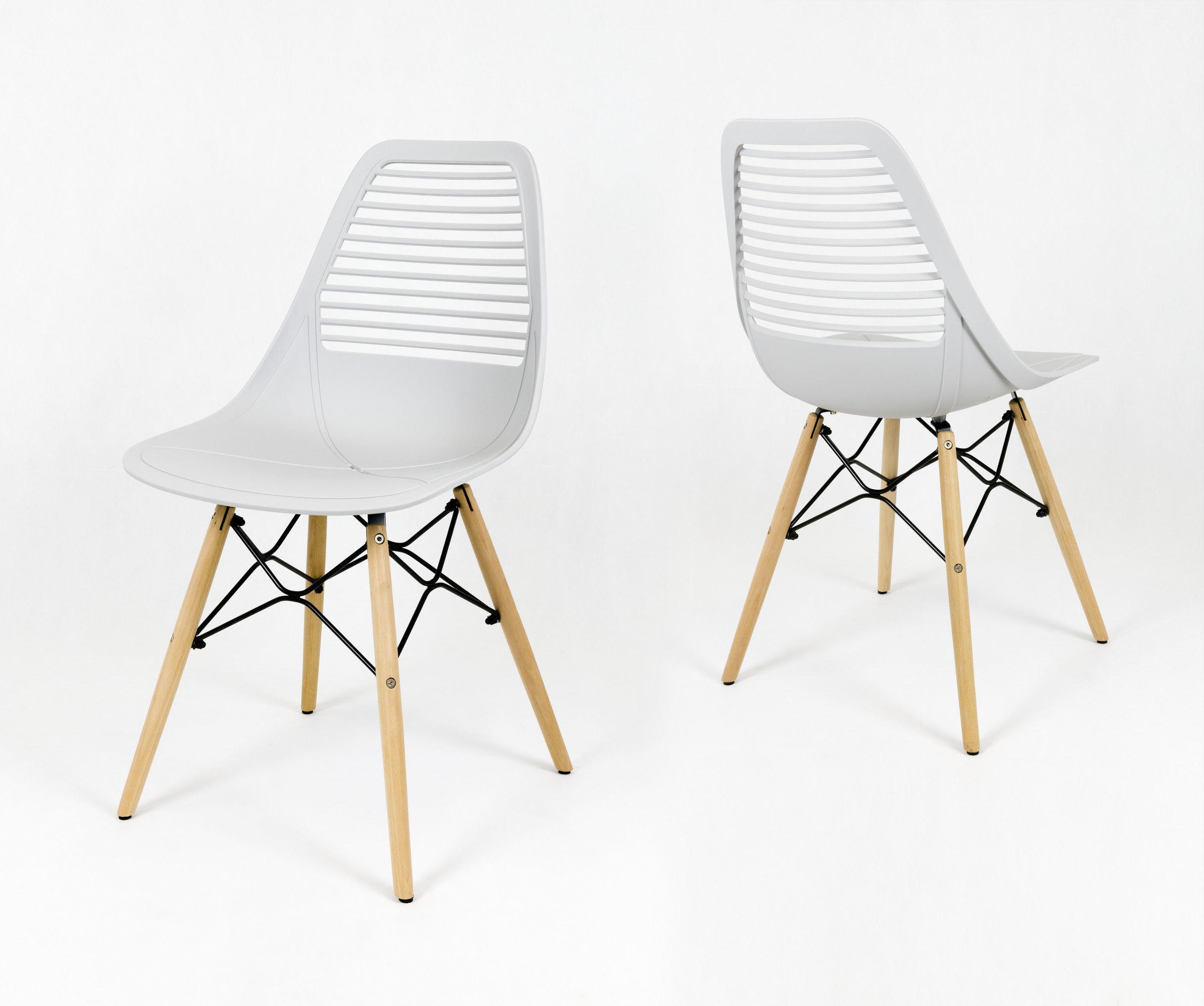Krzesło Light jasno szare