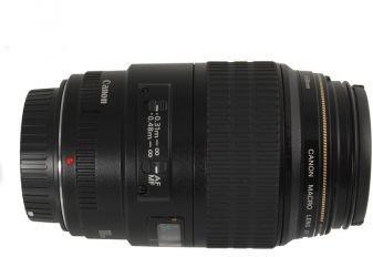 Canon EF 100mm f2.8 Macro USM Czarny
