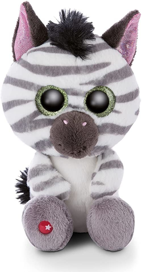 Maskotka GLUBSCHIS zebra Mankalita 15cm
