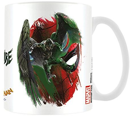 Pyramid International Spider-Man Homecoming (Vulture) oficjalnie zapakowany ceramiczny kubek do kawy/herbaty, papier, wielokolorowy, 11 x 11 x 1,3 cm
