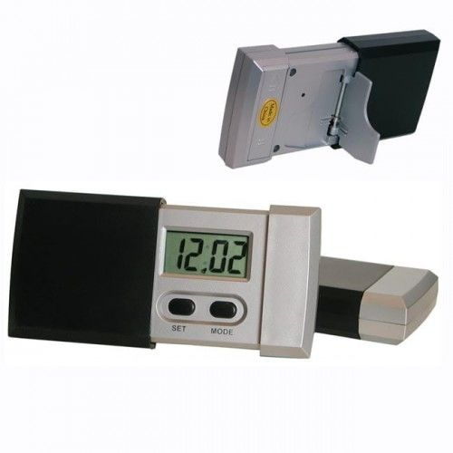 Zegar cyfrowy LCD zasuwka