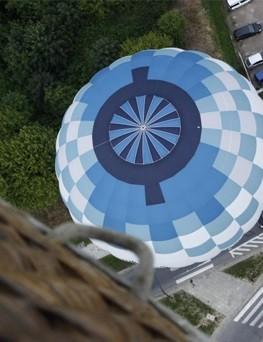 Lot balonem dla dwojga  Łódź