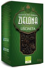 Herbata zielona liściasta BIO 80 g Dary Natury