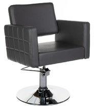 Fotel fryzjerski Ernesto szary BM-6302
