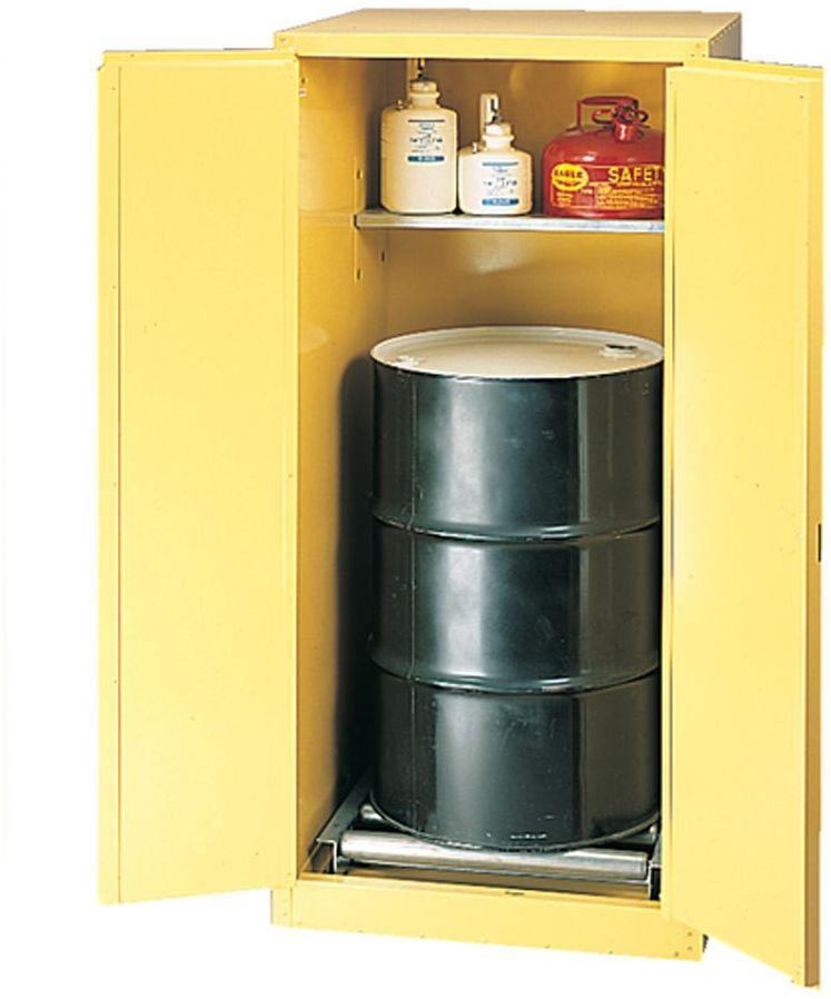 Bezpieczna szafa ( 208 l) - 2-drzwiowa, z rolkami