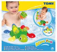 Tomy - Żółwiowa rodzinka do zabawy w wodzie T72097