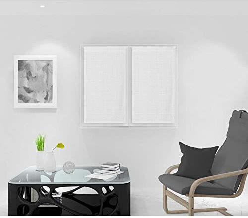 Soleil d''Ocre Noemie zazdrostka, woal, poliester, biały, 45 x 90 cm
