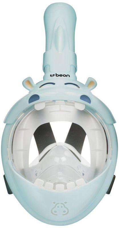 Maska do nurkowania pełnotwarzowa dla dzieci Beon Kids Hipopotam