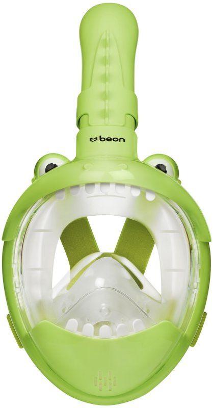 Maska do nurkowania pełnotwarzowa dla dzieci Beon Kids Dinozaur