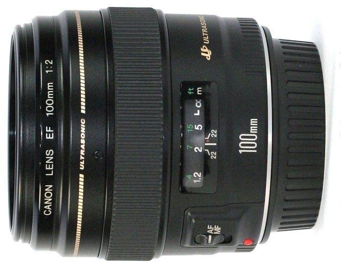 Canon EF 100mm f/2.0 USM Czarny