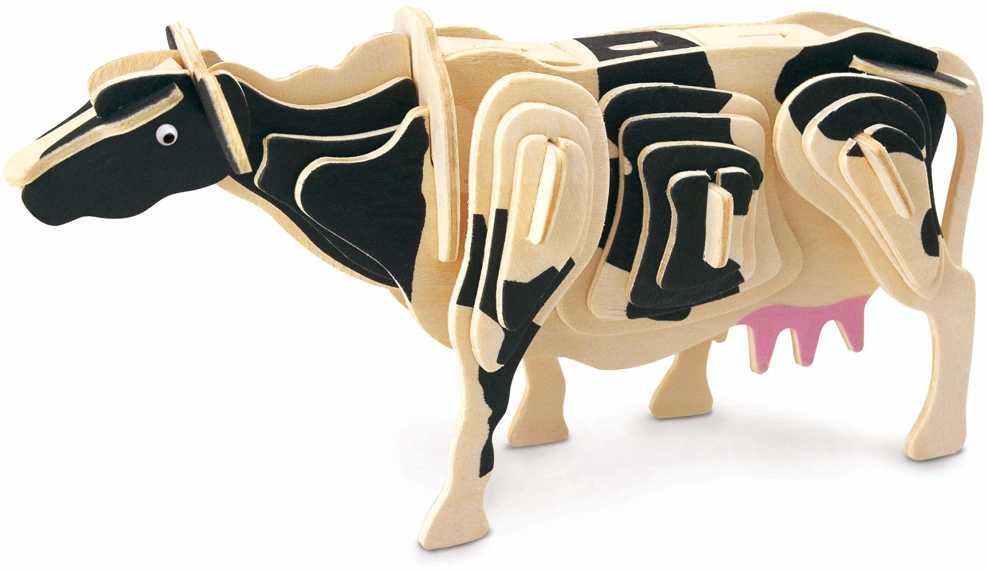 Quay M101 krowa drewniana konstrukcja zestaw FSC, brązowy