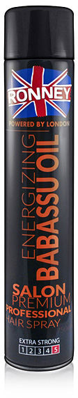 Ronney Energizing Babassu Oil Hair Spray Lakier do włosów 750 ml