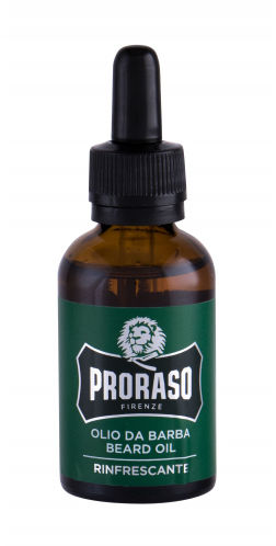 PRORASO Eucalyptus Beard Oil olejek do zarostu 30 ml dla mężczyzn