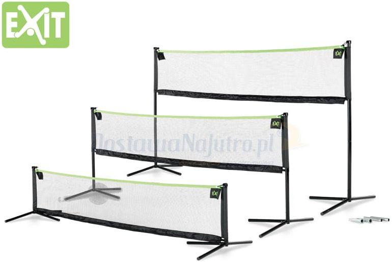 Exit Multi Sport 3000 - wielofunkcyjna siatka do tenisa badmintona siatkówki
