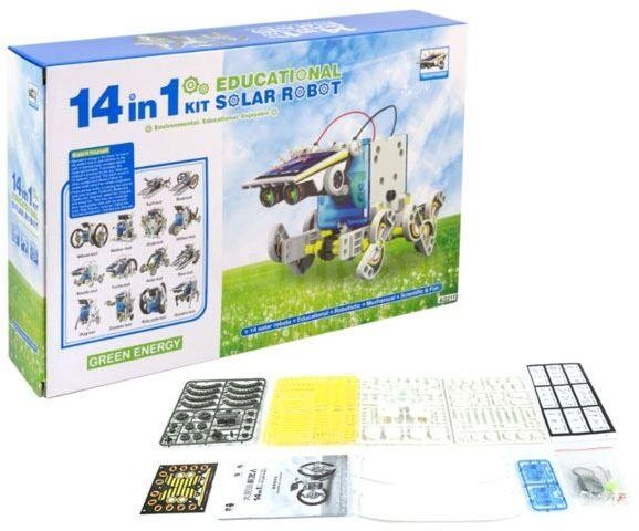 Zestaw solarny do montażu 14w1