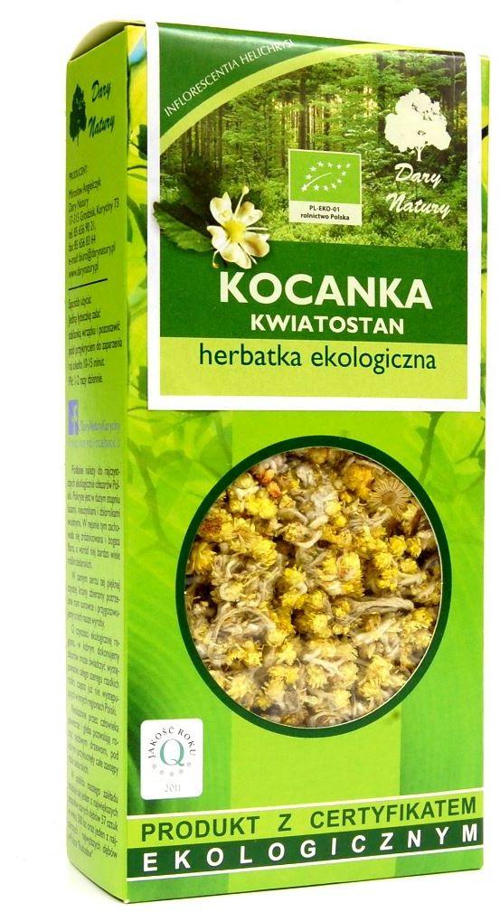 Herbatka z kwiatostanu kocanki bio 25 g - dary natury