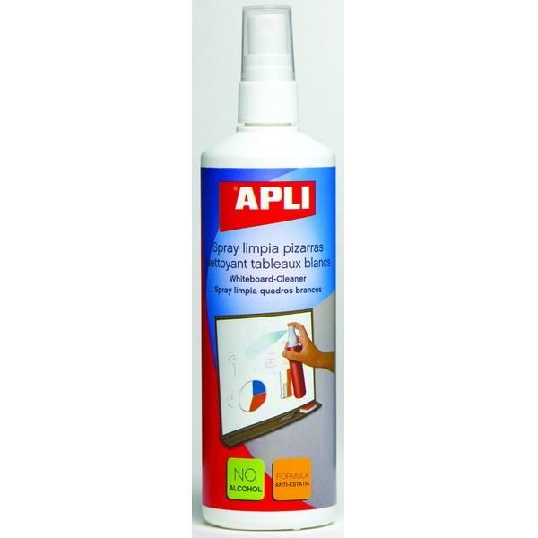 Płyn czyszczący do tablic suchościeralnych APLI 250 ml - X07906