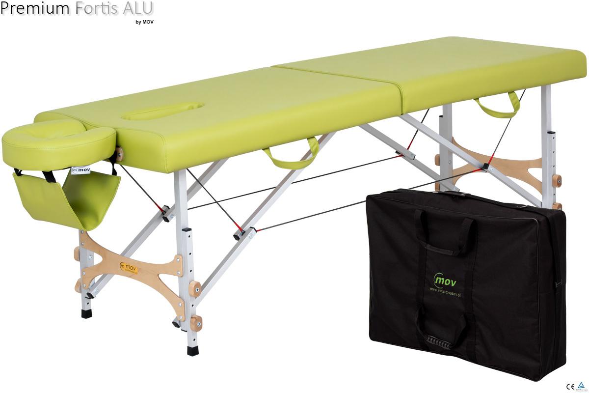 Składany stół do masażu PREMIUM Fortis ALU