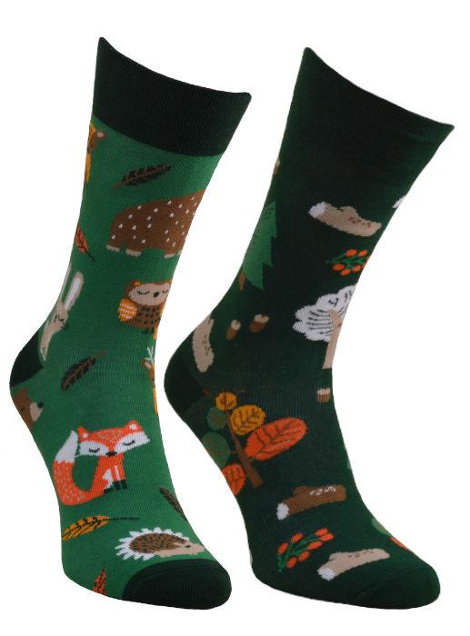 Forest Animals, Todo Socks, Leśne zwierzaki, Kolorowe Skarpetki
