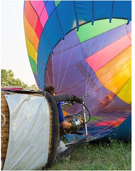 Widokowy lot balonem  Lublin