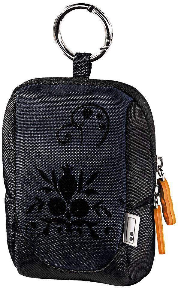 Hama aha 70J Scroll torba na aparat czarny/niebieski