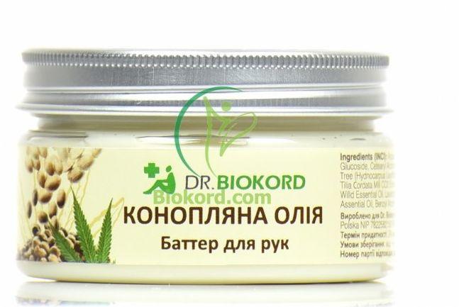 Odżywcze Masło do Rąk z Olejem Konopnym, Dr.Biokord, 100ml